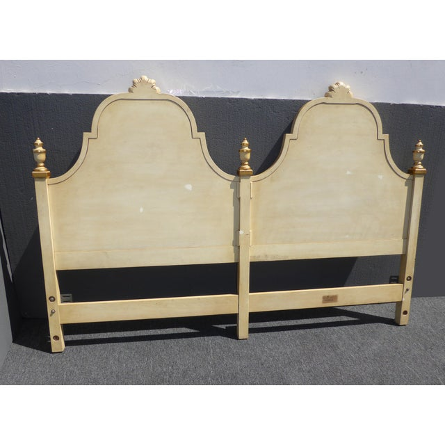 Kindel Vintage French Country King Headboard - Image 10 of 11