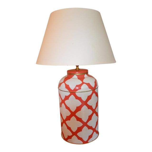 Dana Gibson Tea Caddy Lamp - Image 1 of 3