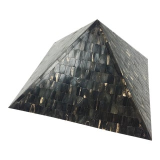 Vintage Tessellated Horn Pyramid