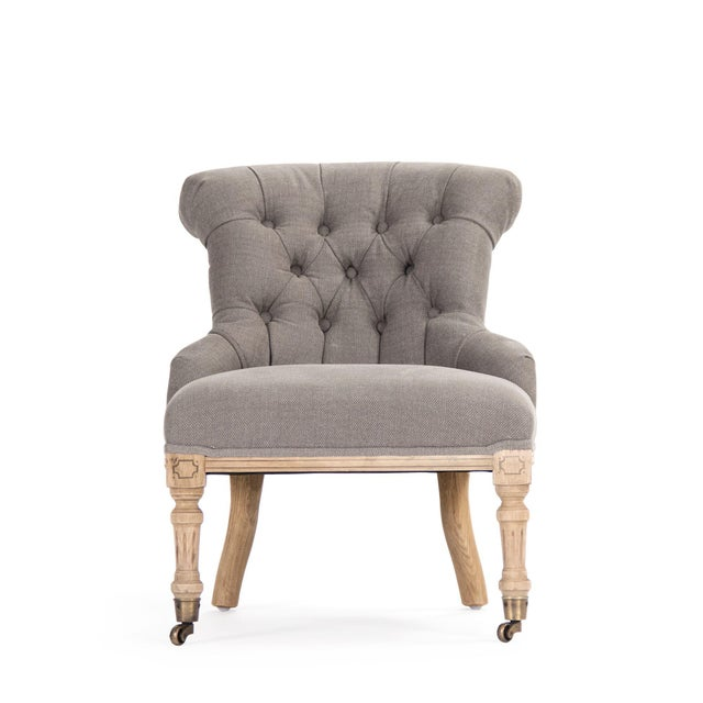 Kaylan Chair in Beige For Sale - Image 4 of 4