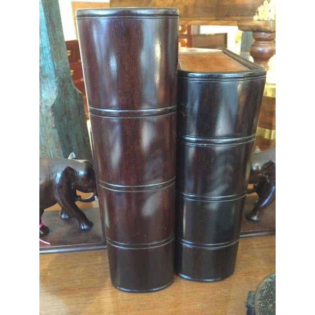 Satinwood and Rosewood Book Box For Sale - Image 4 of 6