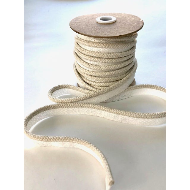 "Braided 1/4"" Indoor/Outdoor Cord Trim For Sale - Image 4 of 7"