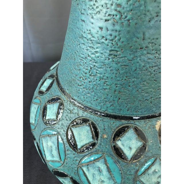 Monumental Aldo Londi Vase Bitossi For Sale - Image 9 of 12