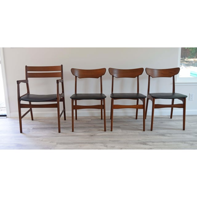 Mid Century Modern Dining Chairs - Set of 4 For Sale - Image 13 of 13