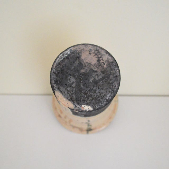 Mid-Century Modern George Roby Tall Pale Pink Vessel For Sale - Image 3 of 5