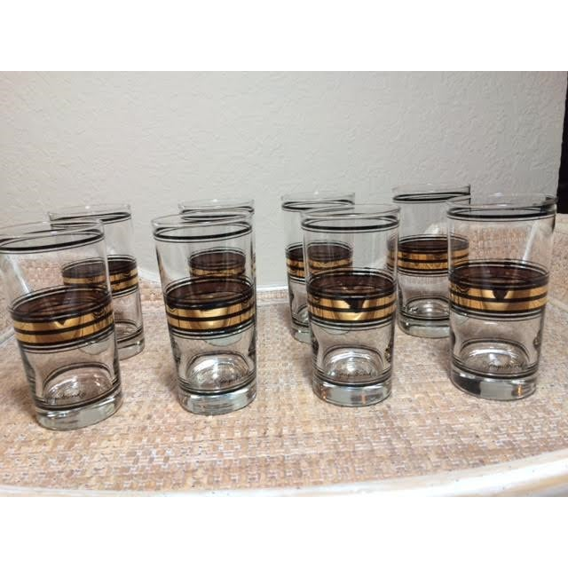 Georges Briard Vintage Highball Glasses - Set of 8 - Image 2 of 4