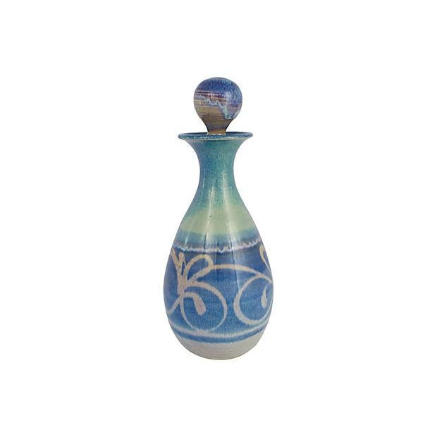 Handmade Pottery Decanter - Image 3 of 7
