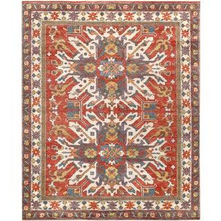 """Pasargad Nomad Kazak Collection Wool Rug - 7' 11"""" X 9' 10"""""""