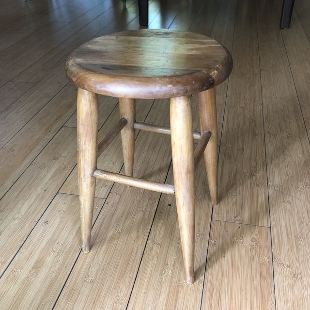 Swell Vintage Wooden Milking Stool Gamerscity Chair Design For Home Gamerscityorg