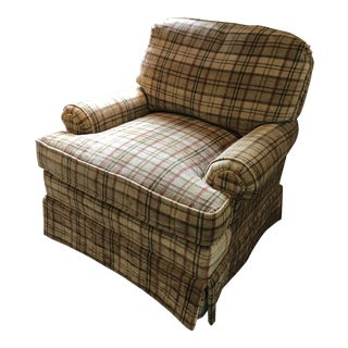 Traditional Lee Industries Club Chair For Sale