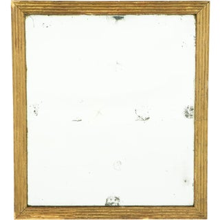 19th Century Gold Gilt Mirror For Sale