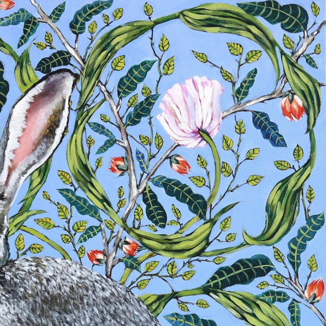"Farmhouse ""Jack Rabbit"" Original Artwork by Naomi Jones For Sale - Image 3 of 9"
