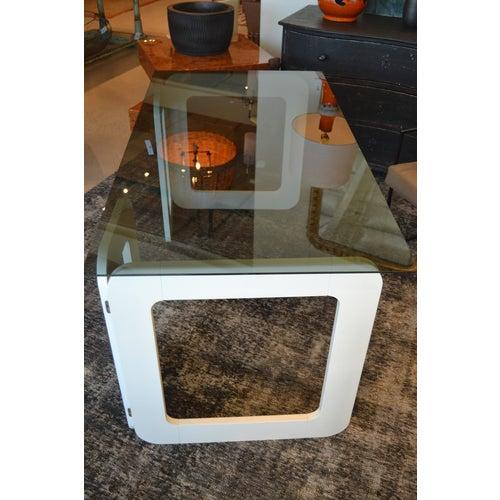 White Vintage Desk From France, C.1970 For Sale - Image 4 of 9