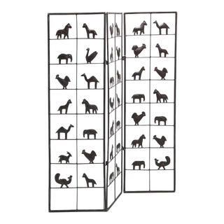 Atelier Marolles Animal Screen Room Divider For Sale