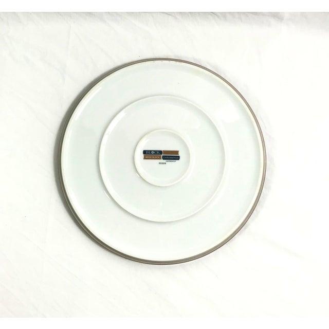 Block Chromatics Dinner Plates, Set of 7 For Sale - Image 4 of 9