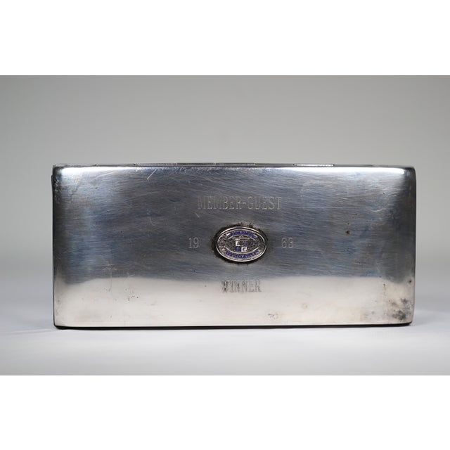Mid-Century Silver Plated Box - Image 4 of 5