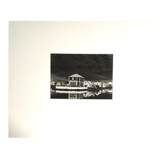 """1970s """"Seydisfjorder"""" Icelandic Landscape Photograph by Fred Picker For Sale"""