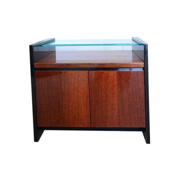 1990s Mid-Century Modern Henredon Night Stand For Sale In San Francisco - Image 6 of 6