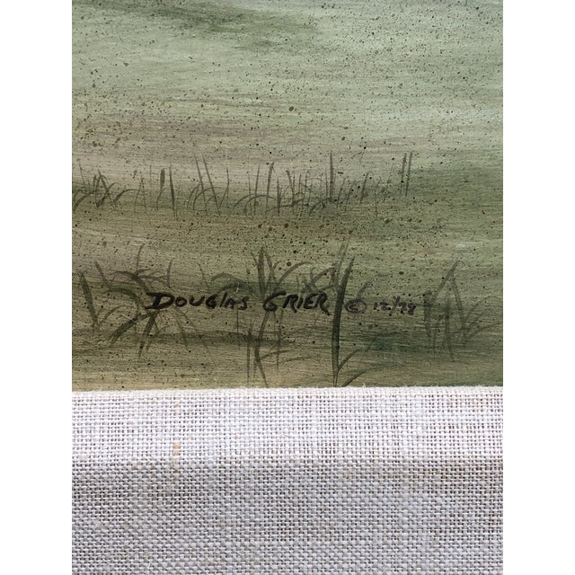 Douglas Grier Southern American Architectural Landscape Painting, Framed For Sale In West Palm - Image 6 of 12