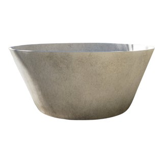 Small Modern Tub in French Grey For Sale