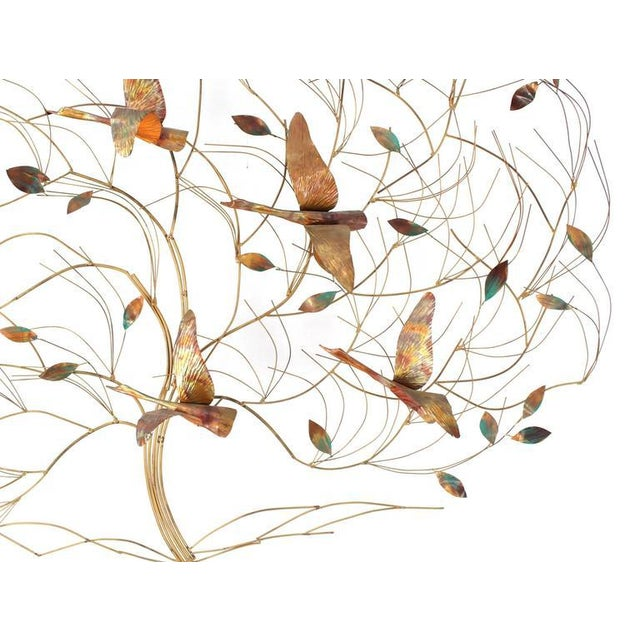 Metal Large Metal Wall Sculpture For Sale - Image 7 of 8