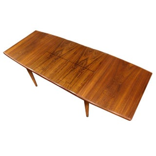 Fine Restored Vintage Teak Table w/Butterfly Leaf