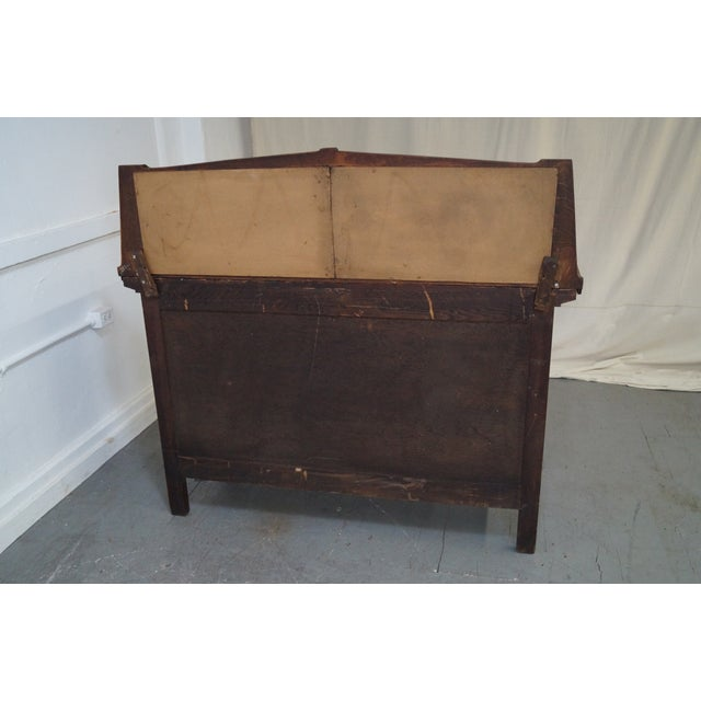 Period Arts & Crafts Mission Oak Sideboard - Image 10 of 10