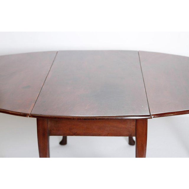 Georgian George II Mahogany Dining Table With Spanish Feet For Sale - Image 3 of 13