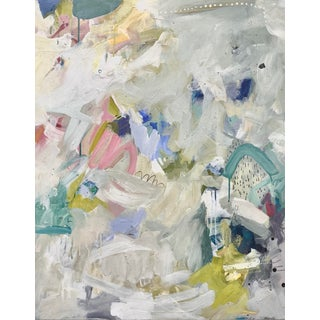 """""""Unhinged"""" Contemporary Abstract Painting by Gina Cochran For Sale"""
