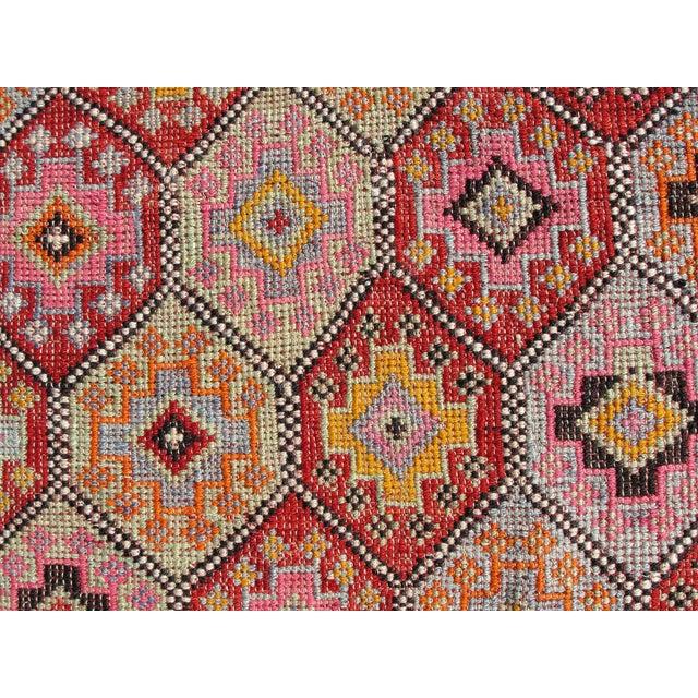 Vintage Turkish Kilim Rug -5′10″ × 8′3″ For Sale In Houston - Image 6 of 11