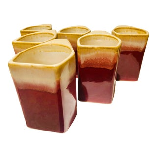 1950s Mid-Century Modern Coffee Cups - Set of 6 For Sale