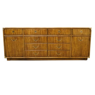 "Drexel Accolade II Collection Asian Modern 77"" Door Dresser For Sale"