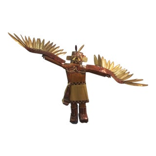 Eagle Dancer Metal Kachina Wall Sculpture