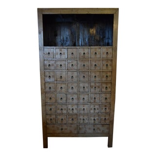 Asian 48 Drawer Apothecary Cabinet