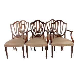 1990s Vintage Baker Furniture Dining Chairs- Set of 6 For Sale