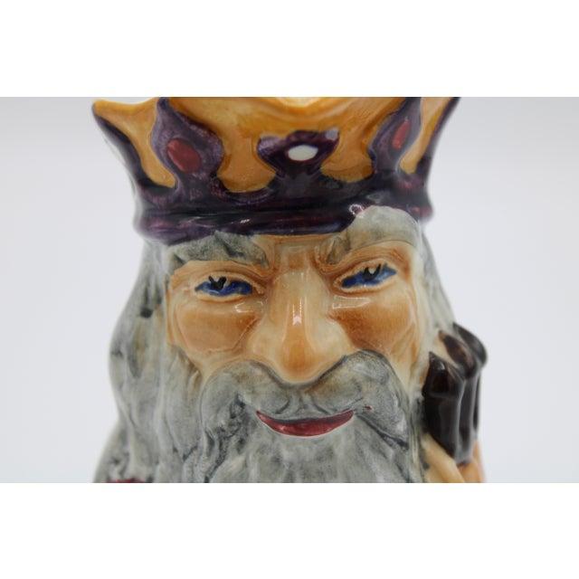 English Staffordshire Father Neptune Nautical Mug / Toby Jug For Sale - Image 9 of 10