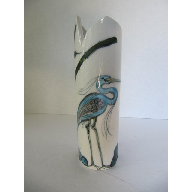 Crane Vase - Image 2 of 7