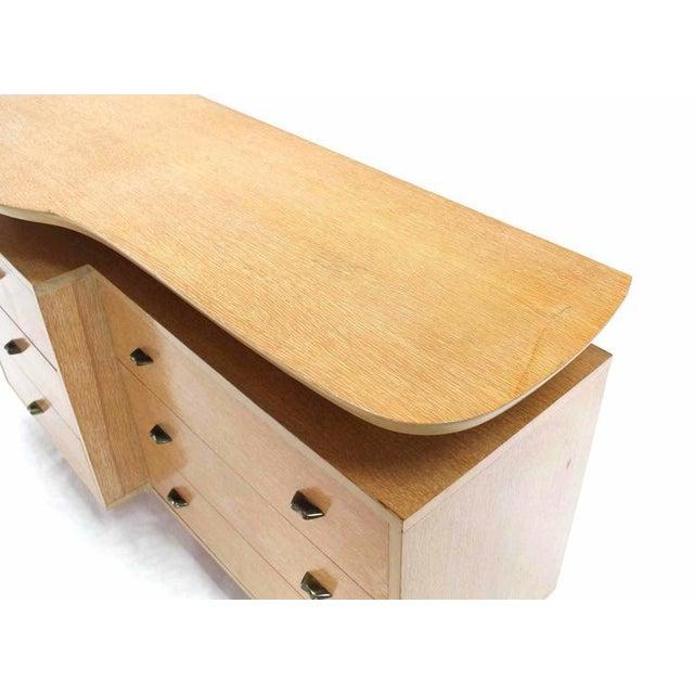 Oak Mid-Century Modern Floating Top Dresser For Sale - Image 7 of 10