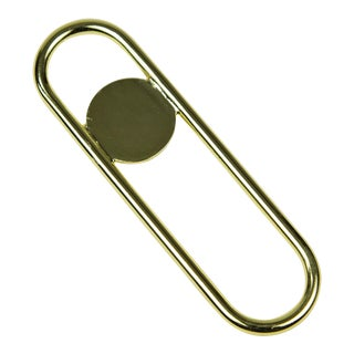 Contemporary Brass Disco Bottle Opener For Sale