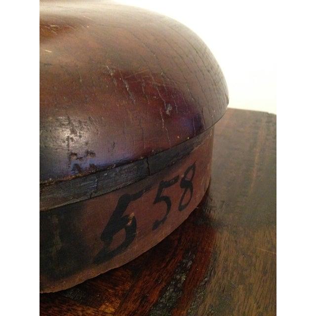 Vintage Wooden Hat Block/Millinery - Image 5 of 8