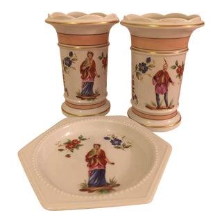 Vintage Vista Alegre Vases - Set of 3