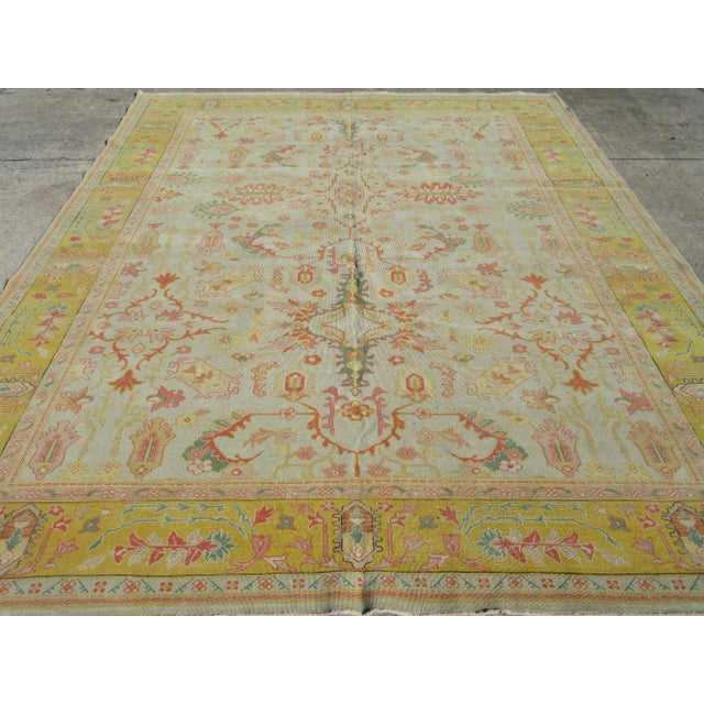 Textile Surena Rugs Agra Design Rug - 8′9″ × 12′3″ For Sale - Image 7 of 10