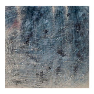 Cole Sternberg, 'The Concrete Floor of the Cabin Nearly Became a Wall,' 2018, Mixed Media on Linen, 76 X 78 Inches For Sale
