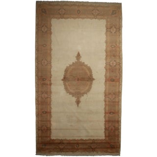 "RugsinDallas Persian Kerman Hand Knotted Rug - 10'1"" X 17'8"" For Sale"