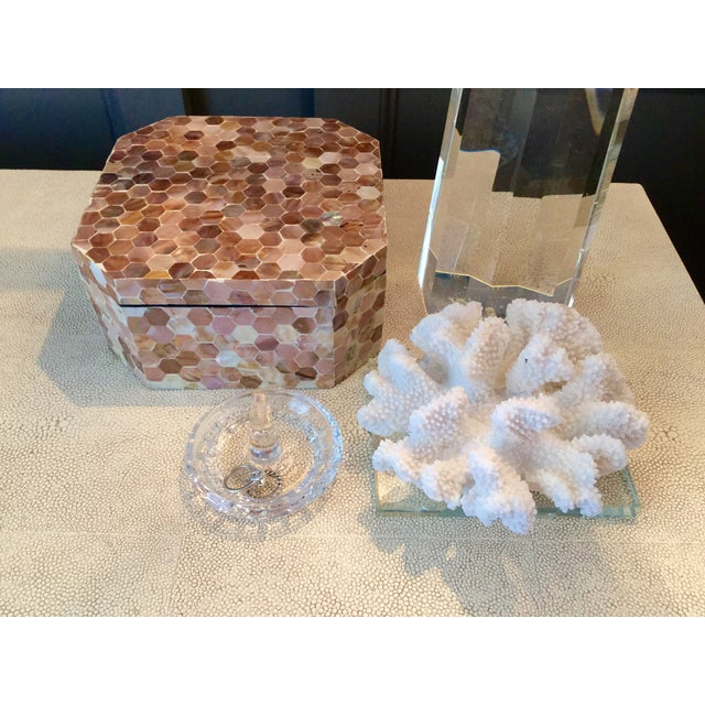 Mother of Pearl Tiled Box - Image 3 of 8