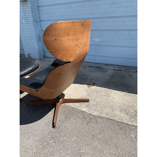 Mid-Century Modern Mid Century Plycraft Mr Chair Lounge For Sale - Image 3 of 9