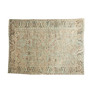 "Vintage Distressed Heriz Carpet - 6'5"" X 8'8"""