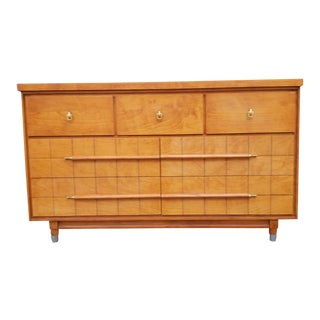 Mid-Century Modern Low Dresser For Sale