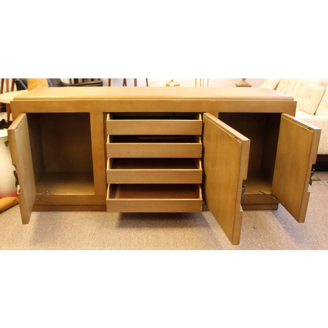 Mid-Century Modern Paul Laszlo Credenza Sideboard Buffet Cane and Wood, 1950s For Sale In Detroit - Image 6 of 9