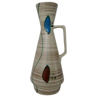 Mid-century Modern Bay Keramik Ceramic Vase For Sale